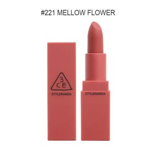 3CE MOOD RECIPE MATTE LIP COLOR #221 MELLOW FLOWER – STYLENANDA