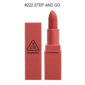 3CE MOOD RECIPE MATTE LIP COLOR #222 STEP AND GO – STYLENANDA