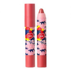 3CE Maison Kitsune Velvet Lip Crayon #Blushed