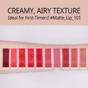 3CE Velvet Lip Tint สี Daffodil ลิปเนื้อเวลเวตแมท