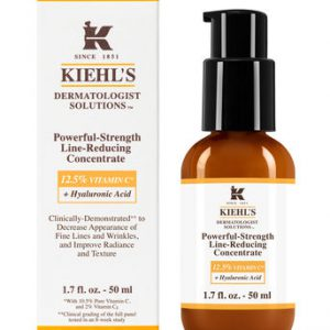 Kiehl's Dermatologist Solutions Powerful-Strength Line-Reducing Concentrate (Vit C) 50 ml. เซรั่มวิตซีคีลส์