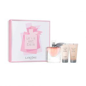 น้ำหอม LANCOME La Vie Est Belle EDP (L'eau De Parfum) 50ml + Body Lotion + shower gel Gift Set 2018