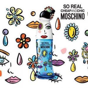 MOSCHINO So Real EDT 100ml น้ำหอมมอสชิโน่