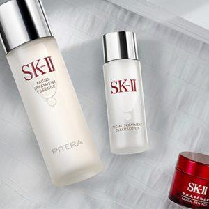 SKII Set Facital Treatment Essence 75ml + Clear Lotion 30ml + RNA Cream 15ml