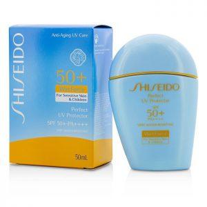 ครีมกันแดด Shiseido – Perfect UV Protector 50+ PA+++ Wetforce sensitive