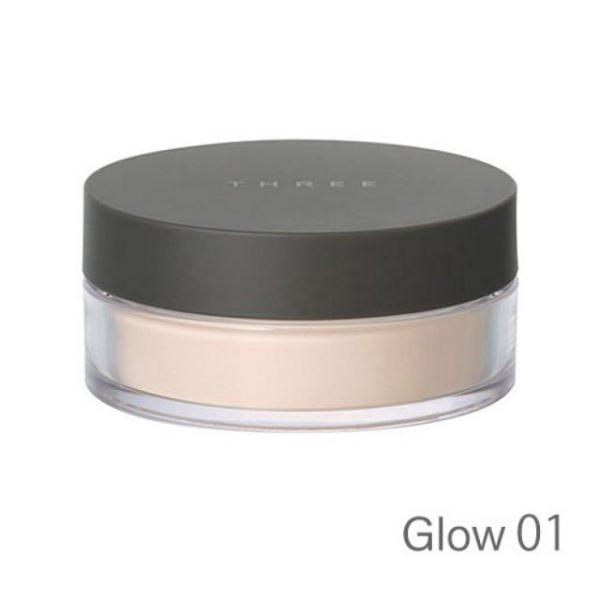 Three Ultimate Loose Powder #Glow 01 17g.