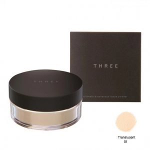 Three Ultimate Loose Powder #Translucent 02 17g.