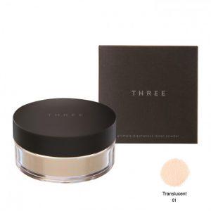 Three Ultimate Loose Powder #Translucent 01 17g.
