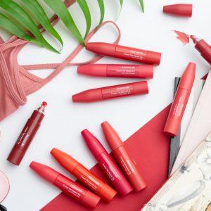 Mamonde Creamy Tint Squeeze Lip สี8 Girly Rose ลิปแมทมามอนด์