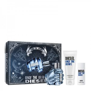 DIESEL Only The Brave EDT Set (75ml+SG+SG) น้ำหอมดีเซล