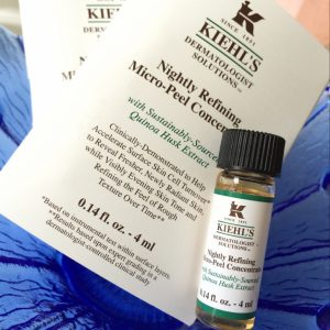 Kiehl's Nightly Refining Micro Peel Concentrate 4ml เซรั่มคีลส์