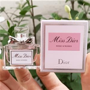 Dior – Miss Dior Rose N' Roses EDT 5ml น้ำหอมมินิ ดิออร์