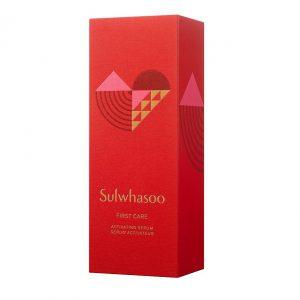 Sulwasoo First Care Activating Serum 120ml Valentine's Edition เซรั่มโซลวาซู