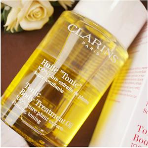 Clarins Tonic Body Treatment Oil 100ml (New Packaging) ออยบำรุงผิวคลาแรงส์